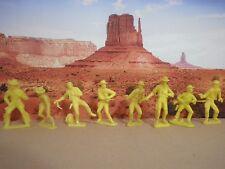 Soldatini Western Cowboys tipo Marx plastica  Vintage Anni 70°/CA/