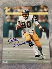 San Diego Chargers autographed KELLEN WINSLOW glossy 8 x 10 photo color print