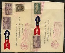 Honduras   2  nice airmail  covers to  US  1932   KL0809