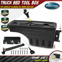 Truck Bed Storage Box Toolbox Passenger for Chevy Silverado GMC Sierra 2007-2018