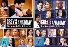 Grey's (Greys) Anatomy - Die komplette 5. + 6. Staffel  13 DVD Set  NEU OVP