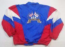 Rare Vintage Team USA Olympics EKTELON Racquetball Windbreaker Jacket Size Large