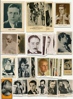 Lot x31 1920s-30s RARE Film Card Collection UNCATALOGUED, ADOLPHE MENJOU (Movie)