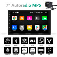 "7"" Android 8.1 2 DIN Autoradio GPS Navi Bluetooth FM Radio WIFI Quad Core Camera"