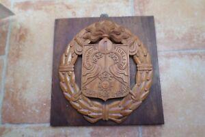 Cadre bois insigne légion étrangère cavalerie
