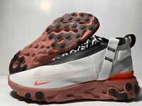 Nike React Runner Mid WR ISPA Mens Shoes White/Crimson AT3143-100 NEW Multi size