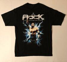 VTG 2000s DWAYNE 'THE ROCK' JOHNSON WRESTLING t shirt
