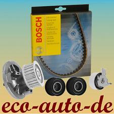 Zahnriemensatz, Zahnriemen von Bosch + Spannrolle + Umlenkrollen + Wasserpumpe