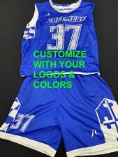 20 Custom Sublimated Reversible Lacrosse Jersey Uniform & Shorts Free Design $55