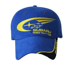 SUBARU Racing Baseball Cap Hat Motorsport Outdoor Sport Adjustable For Men Women