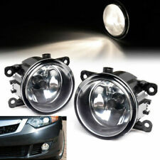 Pair For Nissan Pathfinder Ford Focus Acura Subaru Clear Bumper Fog Light Lamps