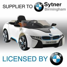 NEW LICENSED BMW I8 RIDE ON TOY CAR 12V TWIN MOTOR +PARENTAL REMOTE CONTROL KIDS