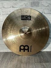 """More details for meinl mcs ride cymbal 20""""/51cm cymbal drum accessory"""