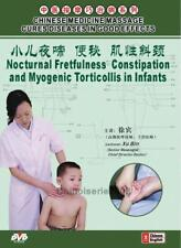 Chinese Massage Cures Diseases Constipation Myogenic Torticollis in Infants, DVD