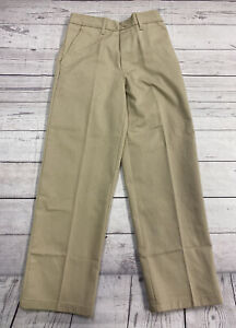 French Toast Boys Size 10 Khaki Pull-On Relaxed Fit Uniform Pants NWT