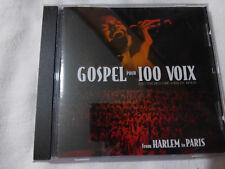 gospel pour 100 voix-from harlem to paris-CD