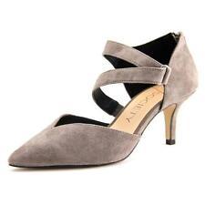 Zapatos de tacón de mujer de tacón medio (2,5-7,5 cm) de ante talla 38