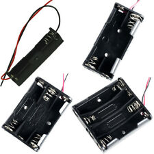 AAA Size Battery Holder Case Box 1x/2x/3x/4x AAA with Wire Leads for Soldering