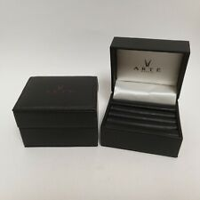Authentic Arte Madrid Rings Jewelry Presentation Box Case Lot (2 Pieces)