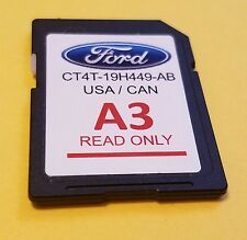 CT4T-19H449-AB Ford A3 Navigation Map SD Card