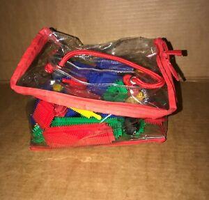 Original Stickle Bricks Bundle, Job Lot - Very Good Condition + Bag