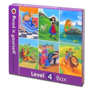 Read it Yourself with Ladybird 6 Books Box Set Level 4