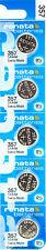 5 pc 357 Renata Watch Batteries SR44W FREE SHIP 0% MERCURY