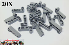 20X Lego® 32140 Technik dicke Liftarme Beams 2X4 neues Hellgrau NEU