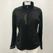 TOMMY HILFIGER Black Jacket Women's Casual Sportswear Golf Workout UK M 10 37861
