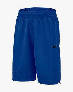 New With Tags Mens Nike Athletic Gym Muscle Logo Shorts Dri-Fit RUNS SMALL