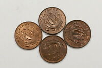 UK GB HALF PENNY'S LOT IN HIGH GRADE B10 WV17