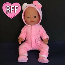 "17"" Dolls Clothes  fits Baby  Born Dolls. Dolls Baby grow / outfit."