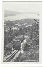 Norway, Bergen, Fløibanen, RP PPC Unposted Funicular Train by JH Kuenholdt