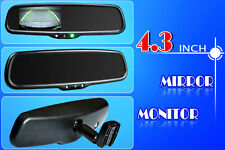 "REVERSING MIRROR 4.3"" OEM STYLE FOR FORD PX RANGER XLT & MAZDA BT50 GT & CAMERA"