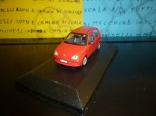 1/43 Fiat 600 Seicento rosso red rouge rot - professional repainted ( Norev )