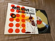 Melvins Pinkus Abortion Technician Black/Yellow Merge Letter Press Tour Edition