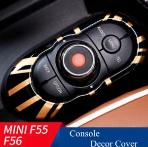 Union Jack iDrive Control Console Panel Cover For MINI Cooper S F55 F56 F57