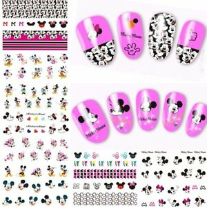 ❤️LOT ECONOMIQUE 200 STICKERS DISNEY ONGLES WATER DECALS MANUCURE NAIL ART