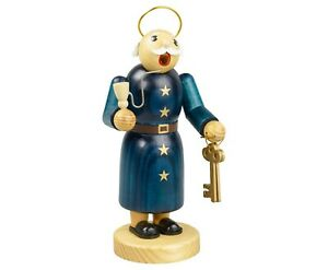"German Christmas incense smoker ""Petrus"""