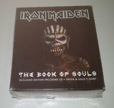 IRON MAIDEN - Book of souls Limited Ed. Box 2CD + T-shirt - Australia 2016