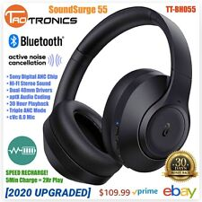 Hybrid Active Noise Cancelling Headphones 3 ANC Bluetooth TT-BH055 2020 UPGRADED
