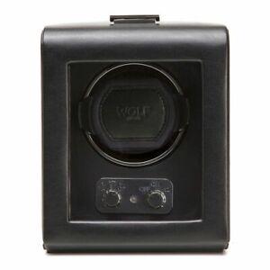 WOLF Heritage Single Watch Winder 270002 900 TPD Bi-directional Module 2.1 Black