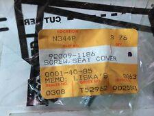Kawasaki 92009-1186 SCREW,SEAT COVER 1983 ZX1100 1983 ZX750 1984 ZX550 1987 ZX10