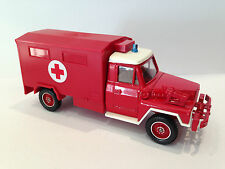 Vintage -Solido- Toy Truck Military Army Ambulance Transporter M1:50 Acmat 4X4