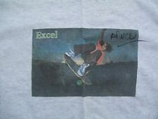 Dogtown Z-Boys Tony Alva Skateboard Signed Photo T-shirt Xl Very Rare Excel Cd