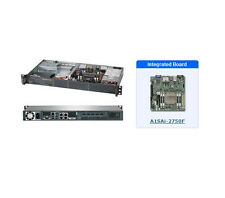 *NEW* SuperMicro SYS-5018A-TN4 1U Black Server with A1SAi-2750F Motherboard
