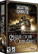 AGATHA CHRISTIE: MURDER ON THE ORIENT EXPRESS (2006) PC CD-ROM NEW & SEALED