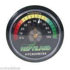 Analogue hygromètre Reptile Terrariums | 0% à 100% taux d'humidité