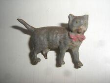 D 72/   Elastolin ?? Tier Katze Original um 1930 für Puppenstube