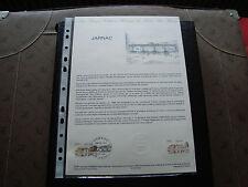 FRANCE - document officiel 1er jour 8/10/1983 (jarnac) french